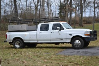 1997 Ford F - 350 Dually Xlt Cab 7.  3l Diesel Truck photo