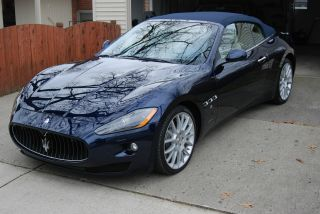 2010 Gt Convertible Blue With Beig Loaded $154,  140 Msrp photo