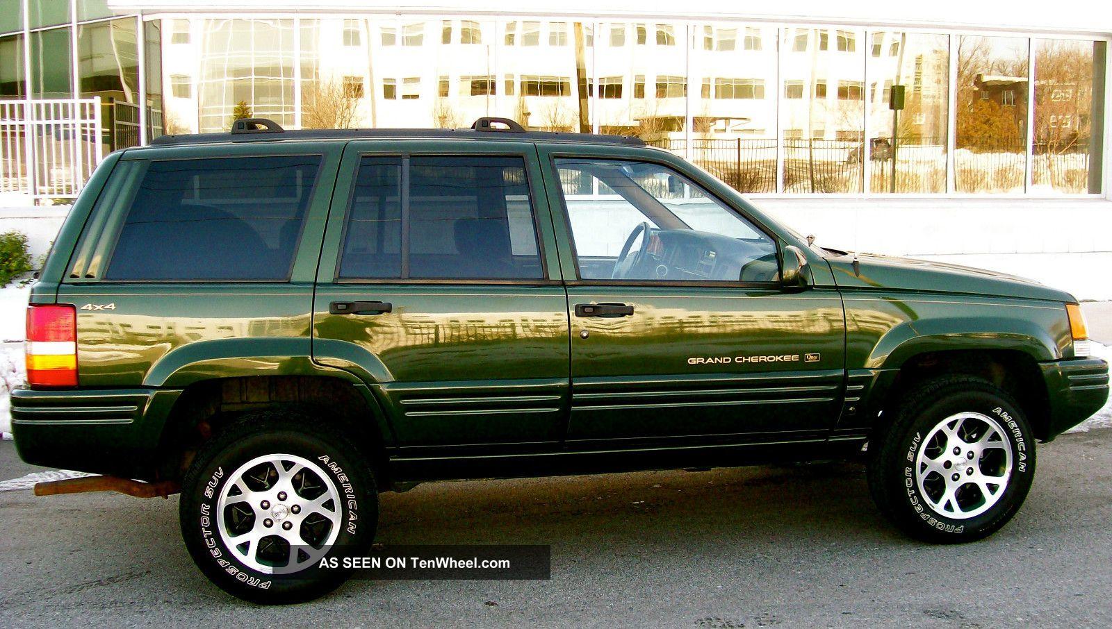 1996 Jeep Grand Cherokee Limited 4x4