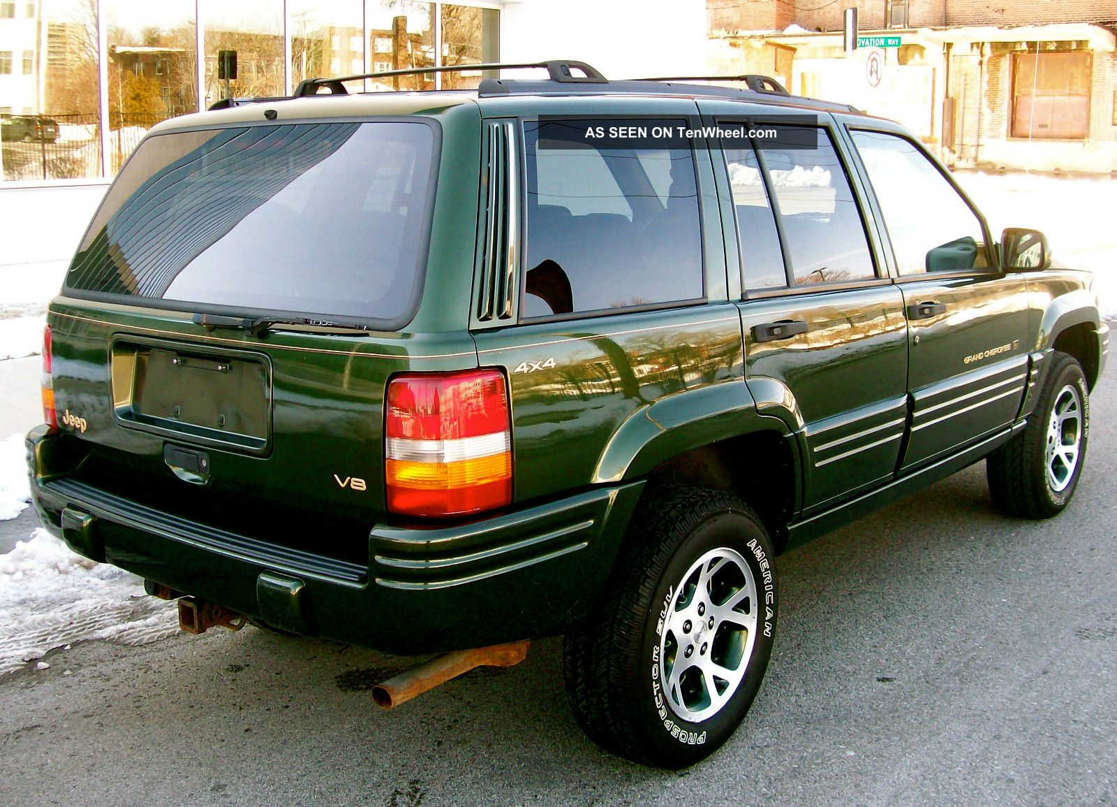 """7.3 Powerstroke Specs >> 1996 Jeep Grand Cherokee Limited 4x4 """" Only 92k Rare Orvis Edition Extra"""