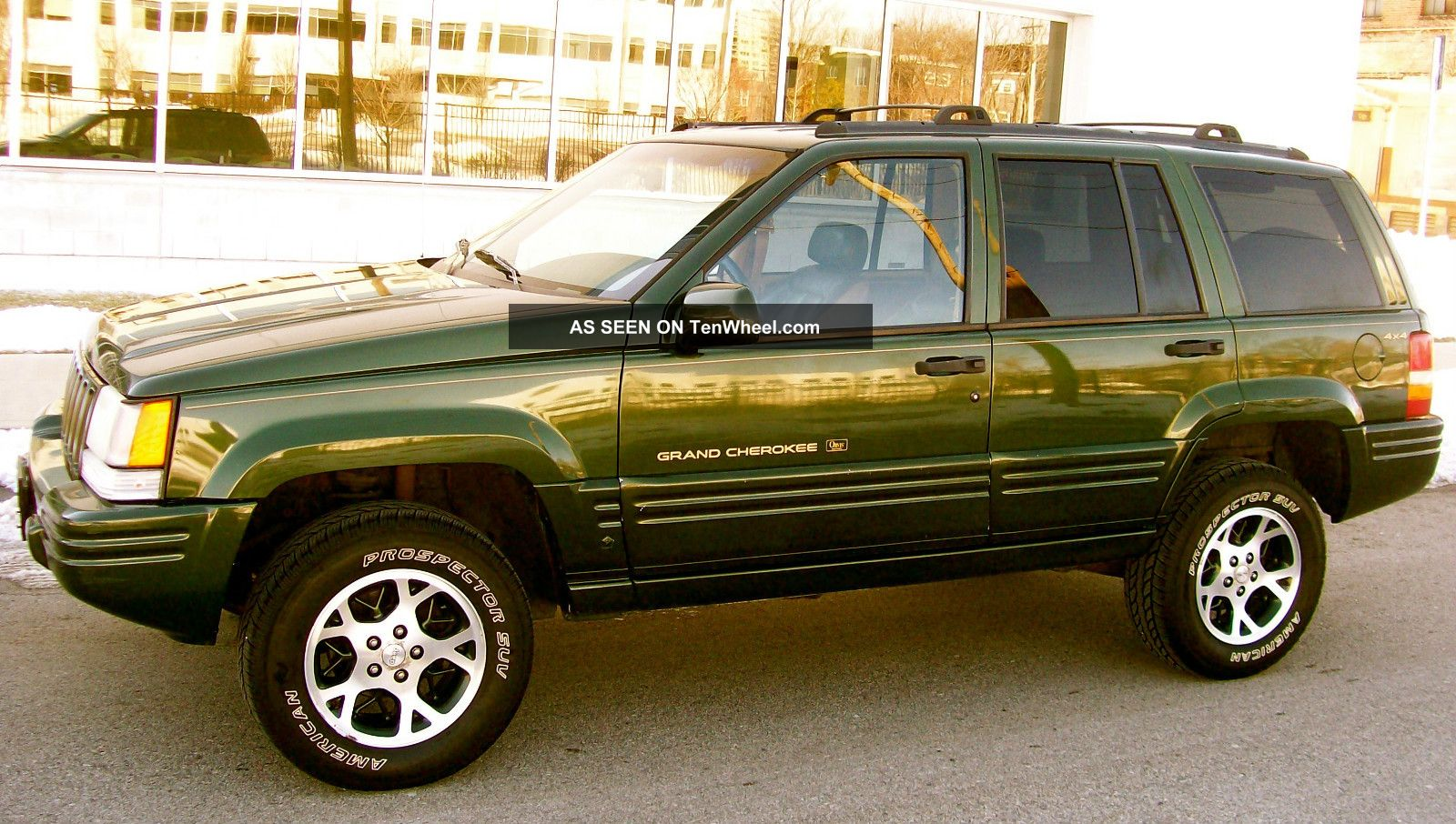 1996 jeep grand cherokee limited 4x4 only 92k rare orvis edition. Cars Review. Best American Auto & Cars Review