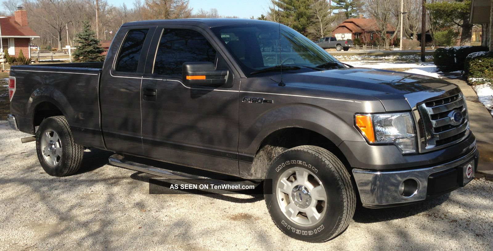 2010 ford f 150 xlt extended cab pickup 4 door 4 6l. Black Bedroom Furniture Sets. Home Design Ideas