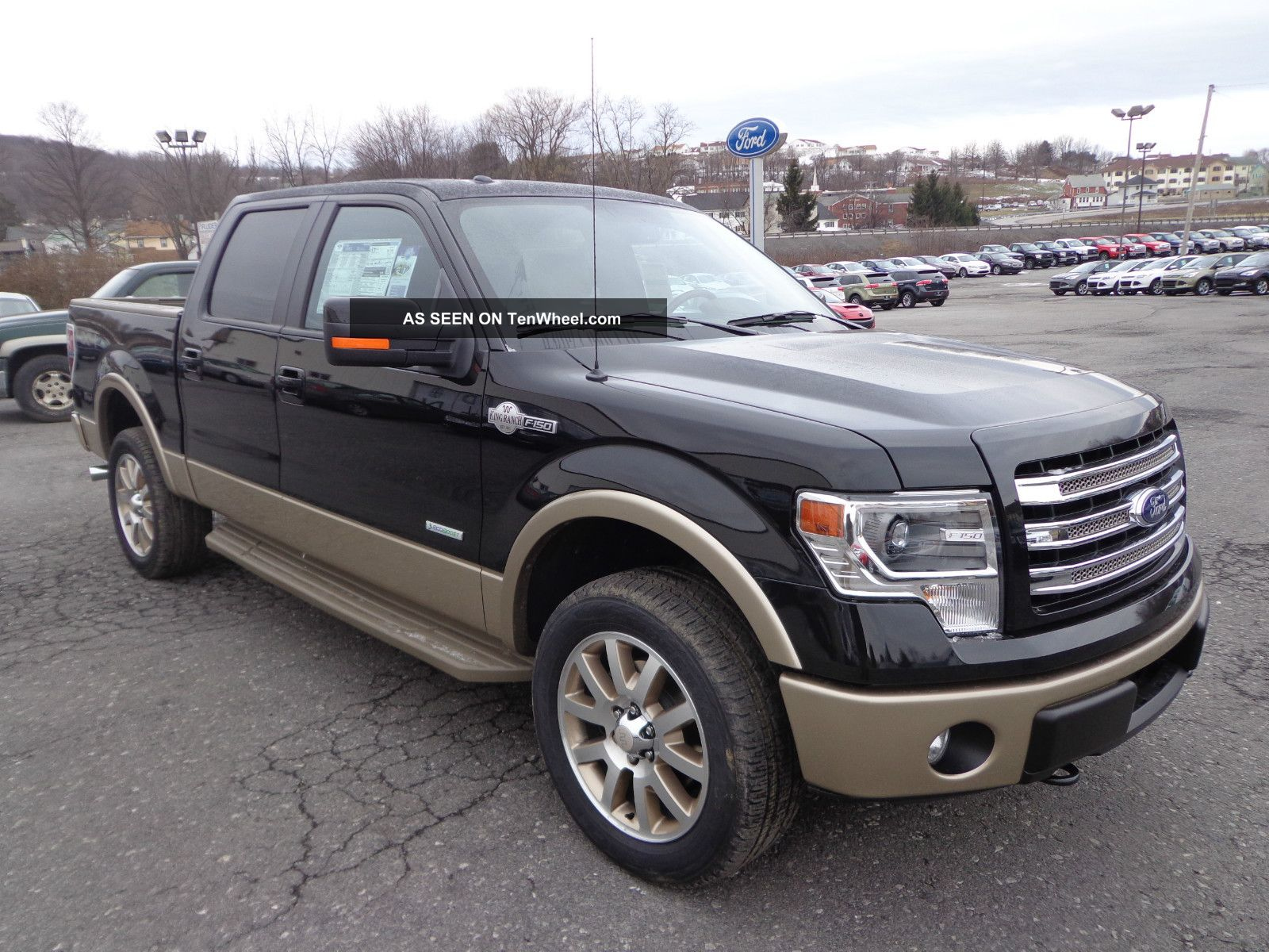 2013 f 150 4x4 supercrew king ranch 3 5 ecoboost. Black Bedroom Furniture Sets. Home Design Ideas