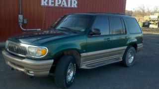 2000 Mercury Mountaineer Base Sport Utility 4 - Door 5.  0l photo