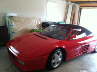 1995 Ferrari 348 Spider photo