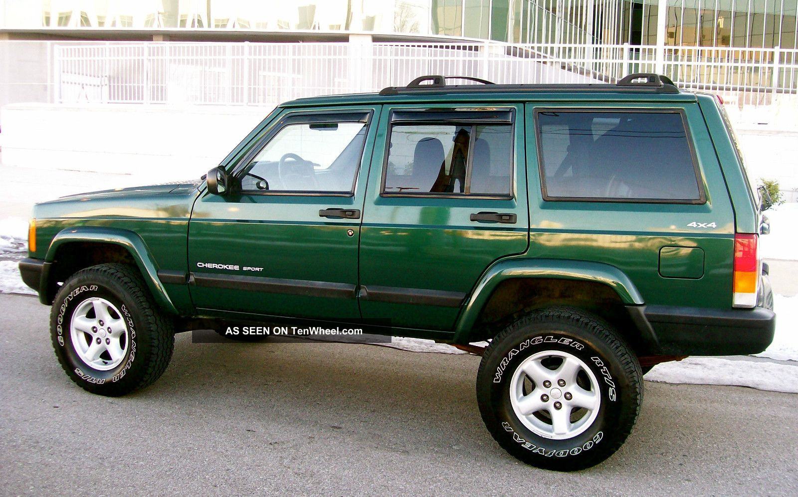 2001 Jeep Cherokee 4x4 Sport 4 0 Lifted Quot Service Records