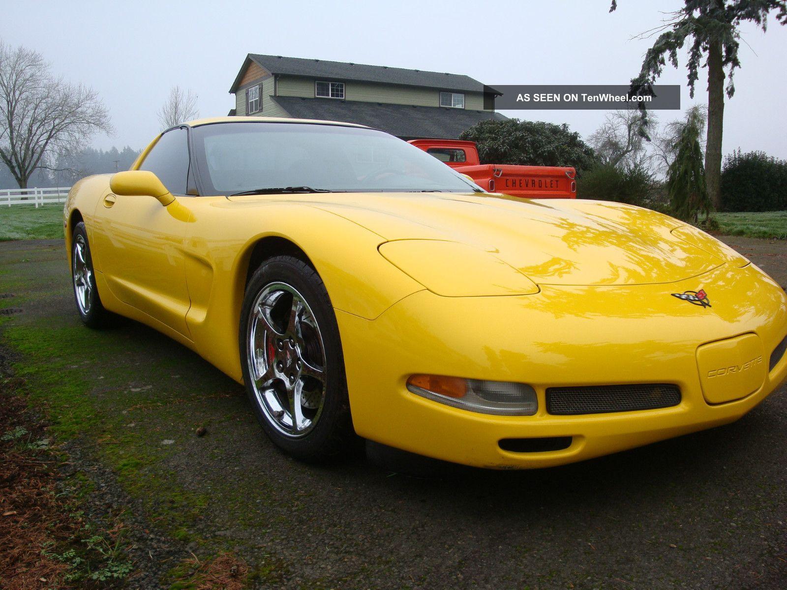 Striking Yellow 2001 C5 Corvette 6 Speed American Sports