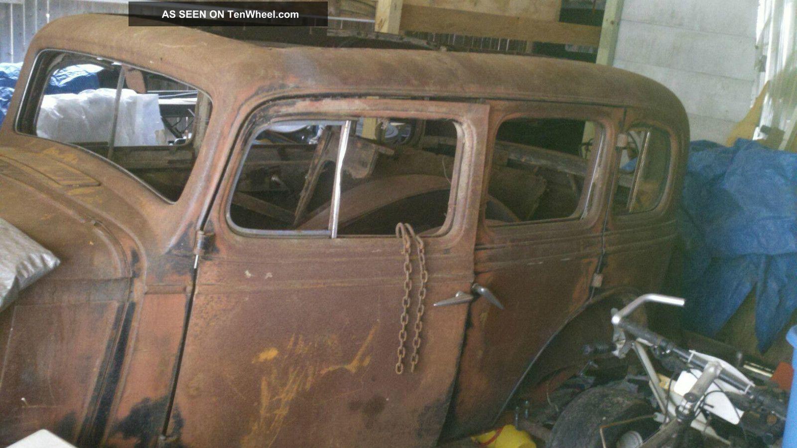 1934 Chevy Master Deluxe Rat Rod Sedan
