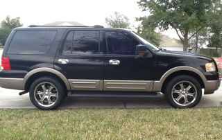 2003 Ford Expedition Eddie Bauer Sport Utility 4 - Door 4.  6l photo