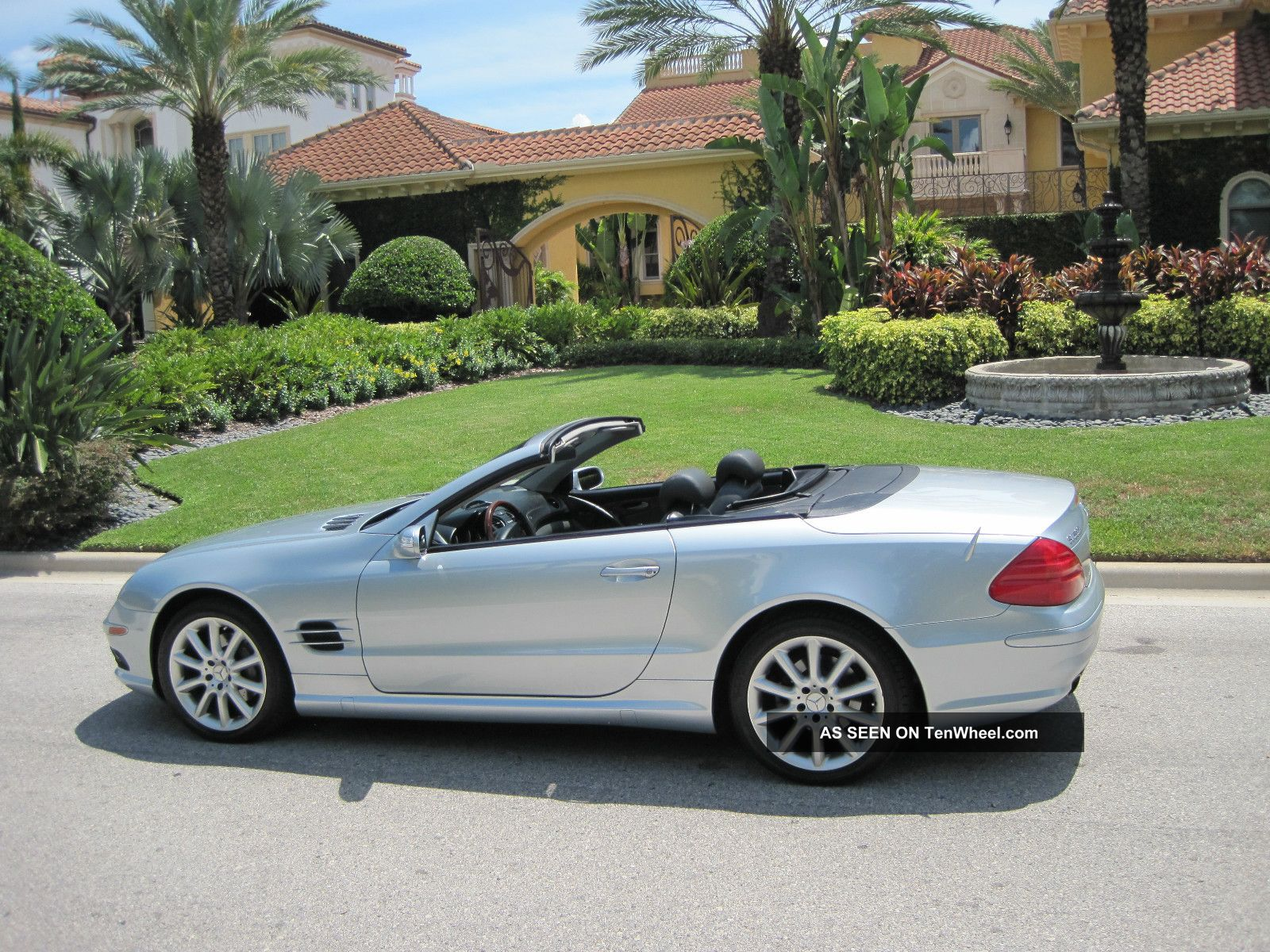 2005 mercedes benz sl500 base convertible 2 door 5 0l for Mercedes benz sl convertible