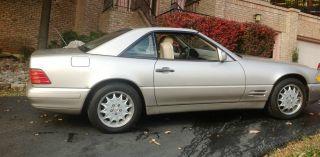 1998 Mercedes - Benz Sl500 Base Convertible 2 - Door 5.  0l photo