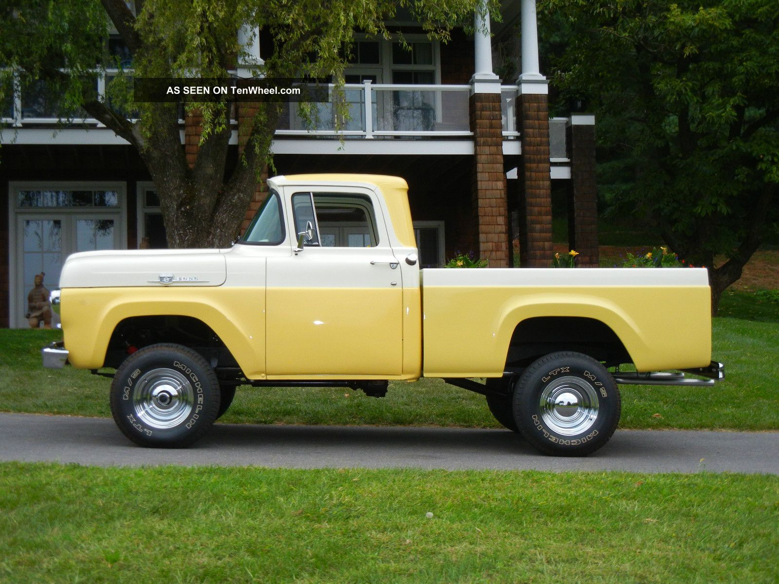 Resto Mod Of An 1959 F100 4x4 Short Bed Pickup