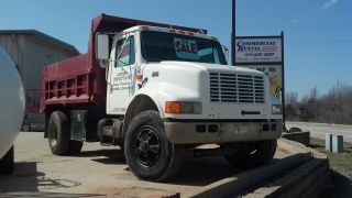 1996 International Single Axle Dump Truck Model 4900 - - - Good Shape photo