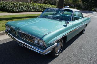 1961 ' Jadestone Green Metallic ' With Matching Tri - Color Blue Interior photo
