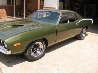 1973 Plymouth Barracuda,  Numbers Matching,  4 Inch Stroker,  2 Motors, photo
