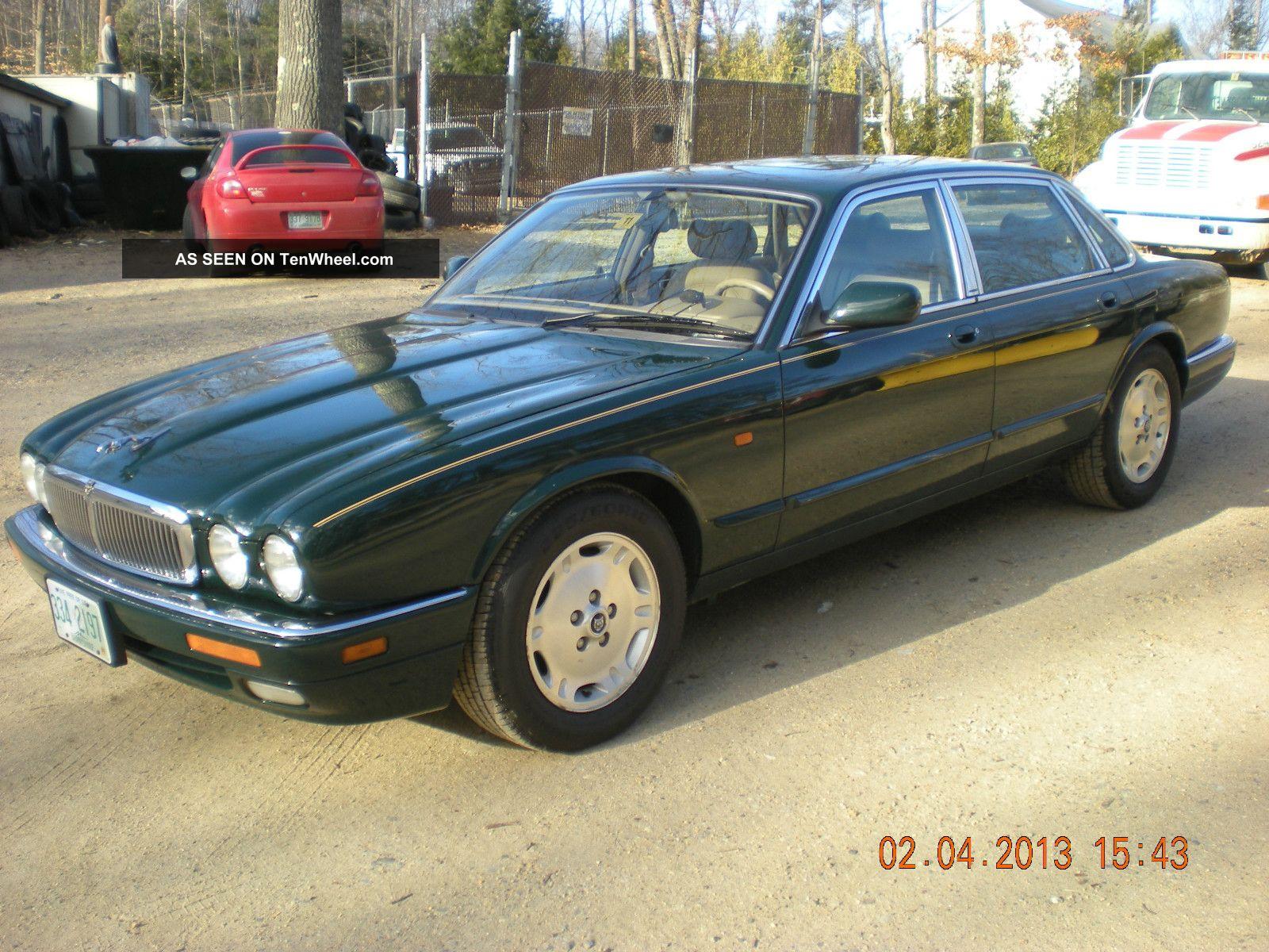 1996 jaguar xj6 base sedan 4 - door 4. 0l