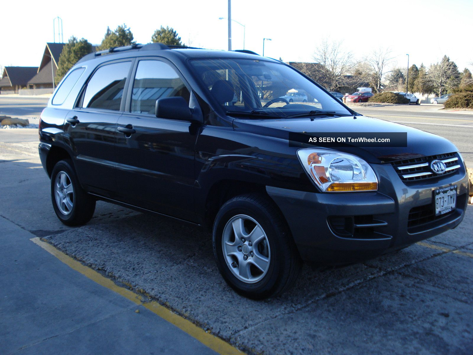 2008 kia sportage lx sport utility 4 door 2 0l. Black Bedroom Furniture Sets. Home Design Ideas