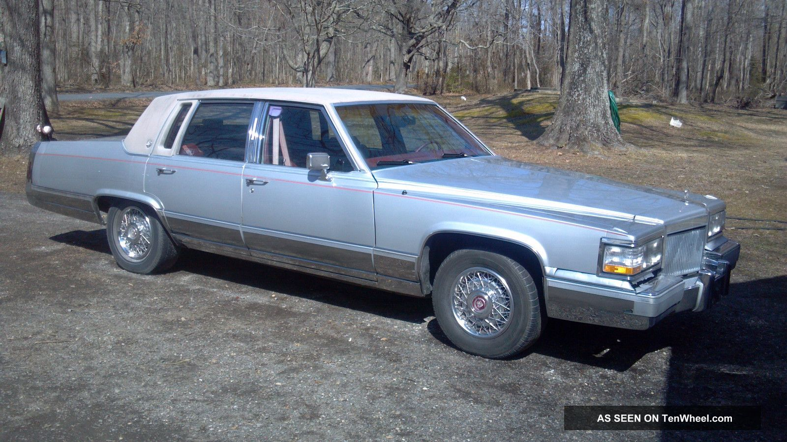 1990 Cadillac Brougham D ' Elegance Sedan 4 - Door 5.  7l Other photo