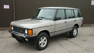 Rare 1995 Range Rover Classic Lwb 25th Anniversary Edition Awesome Condition photo