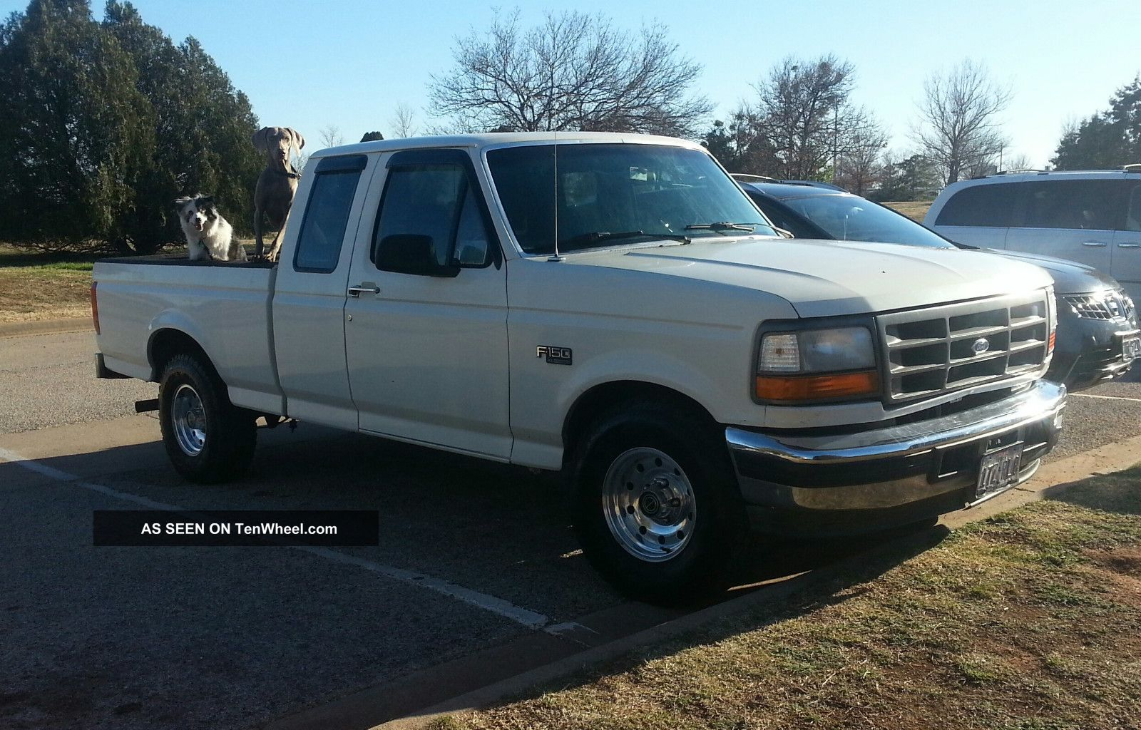 1994 ford f150 bed width