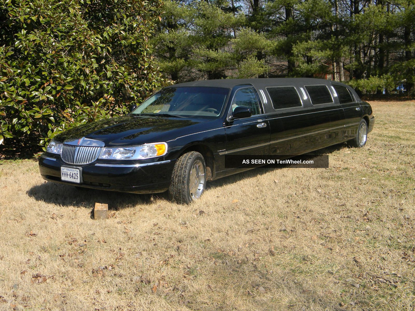1999 Lincoln Town Car Executive Limousine 4 Door 4 6l