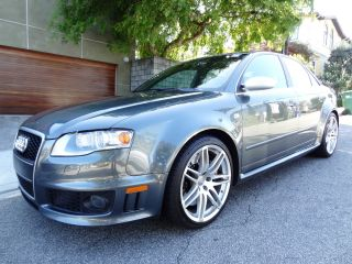 2007 Audi Rs4 Sedan 4.  2l 6 Speed Manual Dolphin Gray Immaculate Nr photo