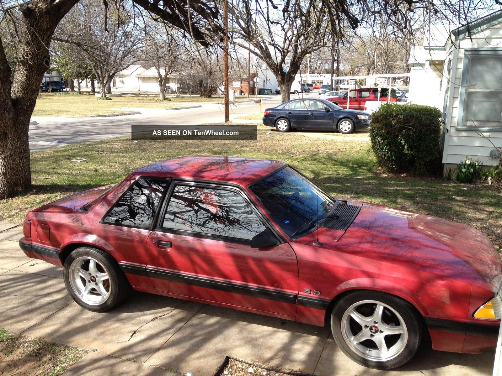 1991 Ford Mustang Lx Sedan 5.  0l Supercharged Mustang photo