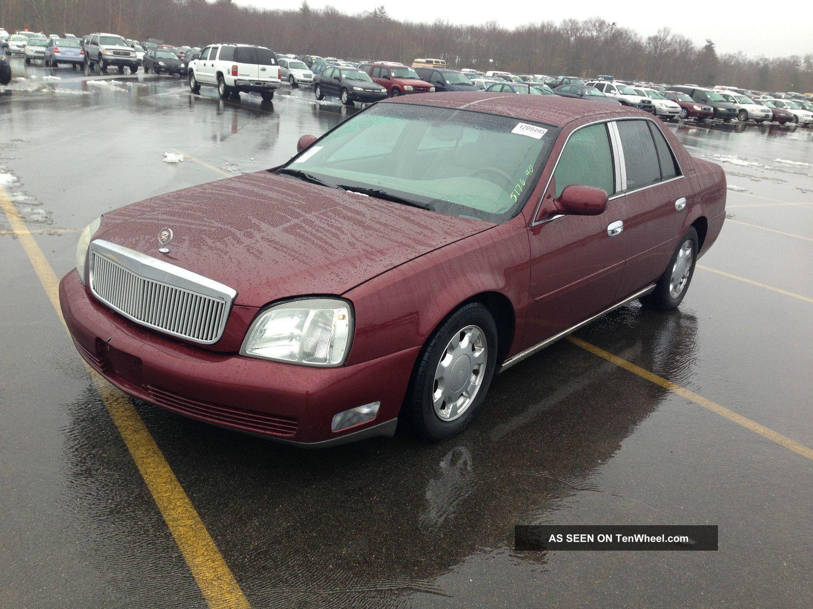 2001 Cadillac Deville Repo Repo Very DeVille photo