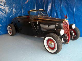 1934 Ford Rat Rod Roadster / Conv. ,  V8,  Auto,  P / S,  P / B,  Steel Body,  Nr photo
