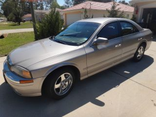 2001 Lincoln Ls Base Sedan 4 - Door 3.  0l photo