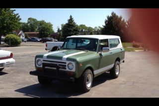 1971 International Scout Ii Base 5.  6l photo