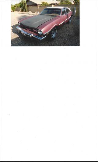 1976 Maverick - Model Ldo - 4 Door Sedan photo