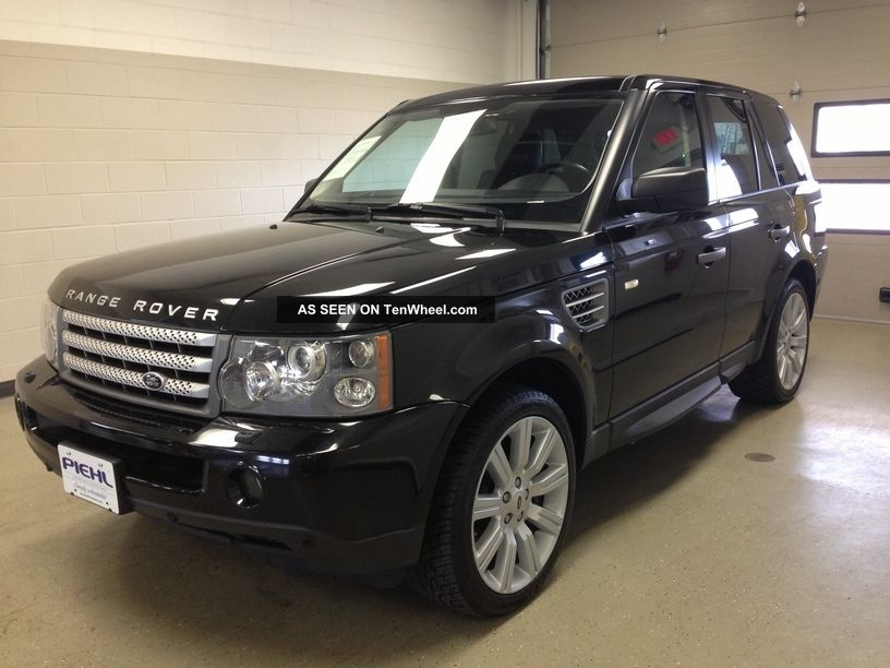 2009 Land Rover Range Rover Sport Supercharged Sport Utility 4 - Door 4.  2l 4wd Range Rover Sport photo