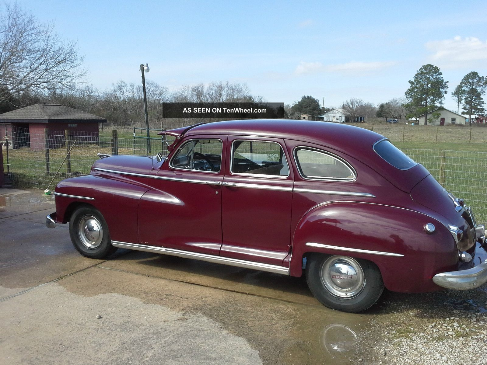 1948 dodge deluxe 4 door sedan american classic