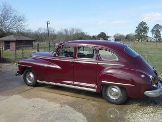 1948 Dodge Deluxe 4 Door Sedan,  American Classic photo