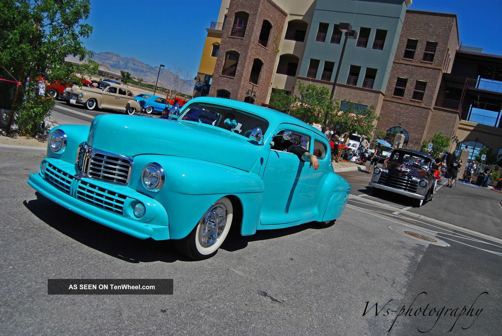 1947 Lincoln Continental 2 Door Chopped Dropped Cruiser Kustom Custom Continental photo