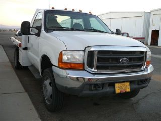 1999 Ford F - 550 Diesel 10 ' Flatbed photo