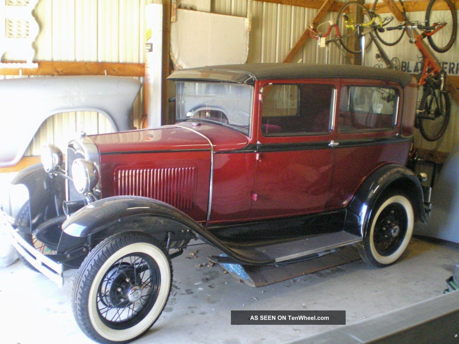 1931 ford model a 2 door sedan resotred for 1931 ford 2 door sedan
