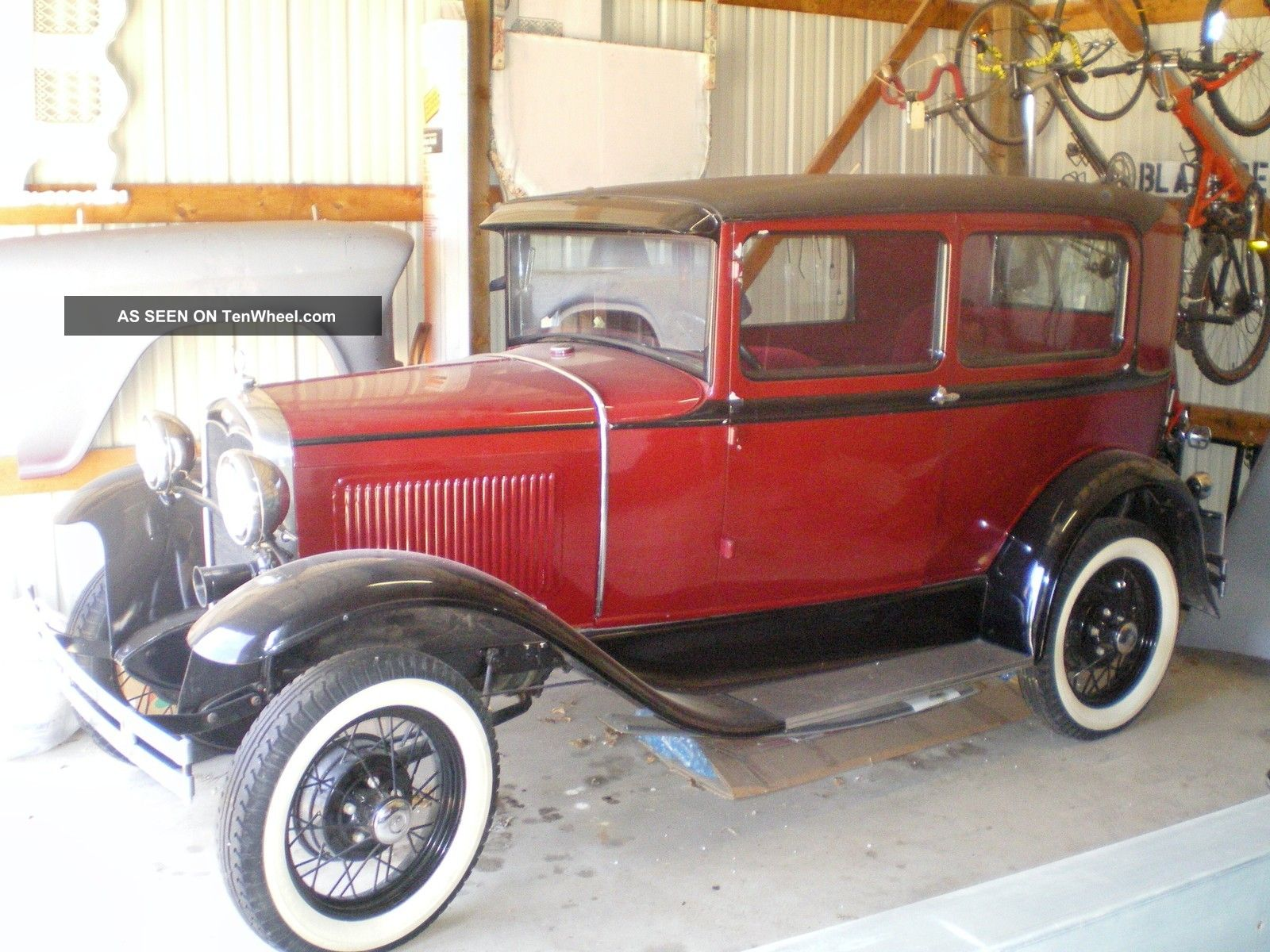 1931 ford model a 2 door sedan resotred for 1931 chevrolet 4 door sedan