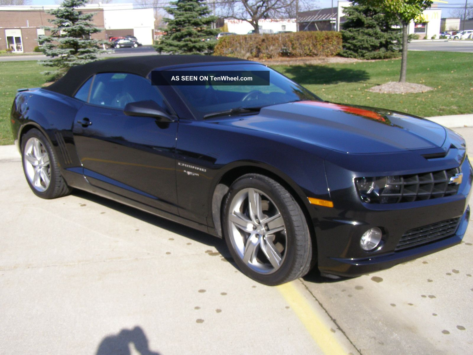 2012 45th anniversary camaro ss convertible. Black Bedroom Furniture Sets. Home Design Ideas