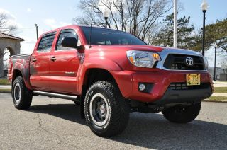 2012 Toyota Tacoma Trd T / X Baja Folding Side Steps Tonneau Cover K&n Video photo
