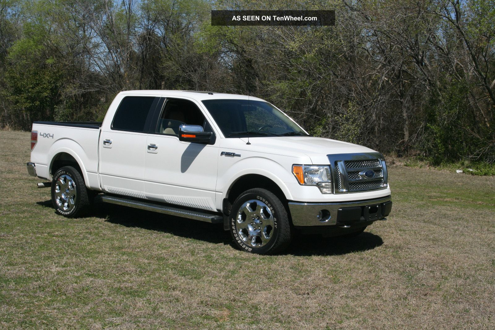 2010 ford f 150 lariat crew cab pickup 4 door 5 4l. Black Bedroom Furniture Sets. Home Design Ideas