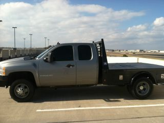 2008 Chevrolet Silverado 3500 Hd Lt Extended Cab Pickup 4 - Door 6.  6l photo