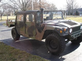 1987 Am General Humvee Military Hummer Titled And Streetable Snorkel Package photo