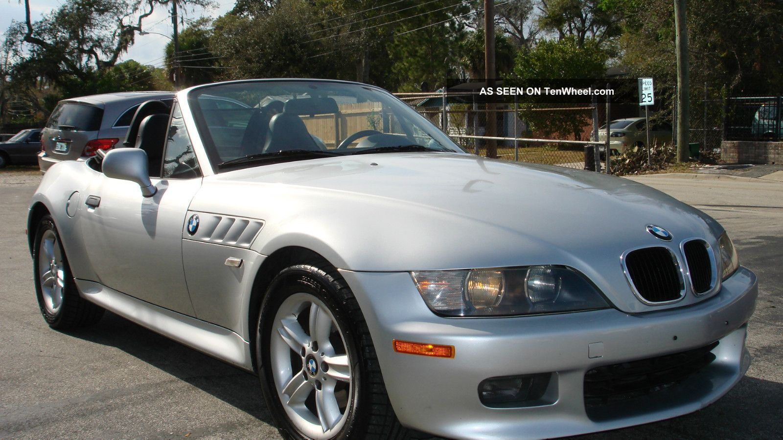 2002 Bmw Z3 Roadster Convertible 2 Door 2 5l