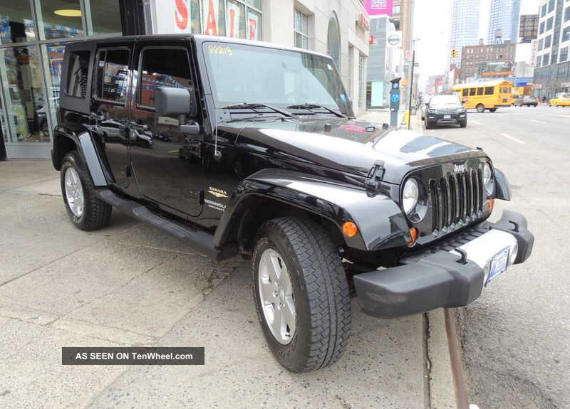 2010 Jeep Wrangler Unlimited Sahara Sport Utility 4 - Door 3.  8l Navi Wrangler photo