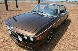 1973 Bmw 3.  0 Cs E9 Coupe Marrakesh Brown photo