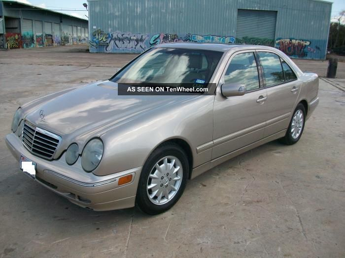 2000 mercedes benz e class for Mercedes benz 2000 e320