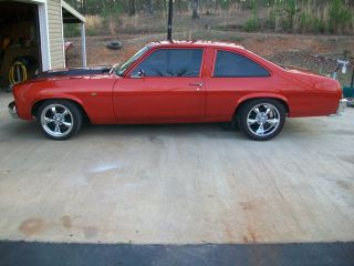 1975 Chevy Nova - Completely Custom,  Show Car,  Hok Paint,  End To End photo