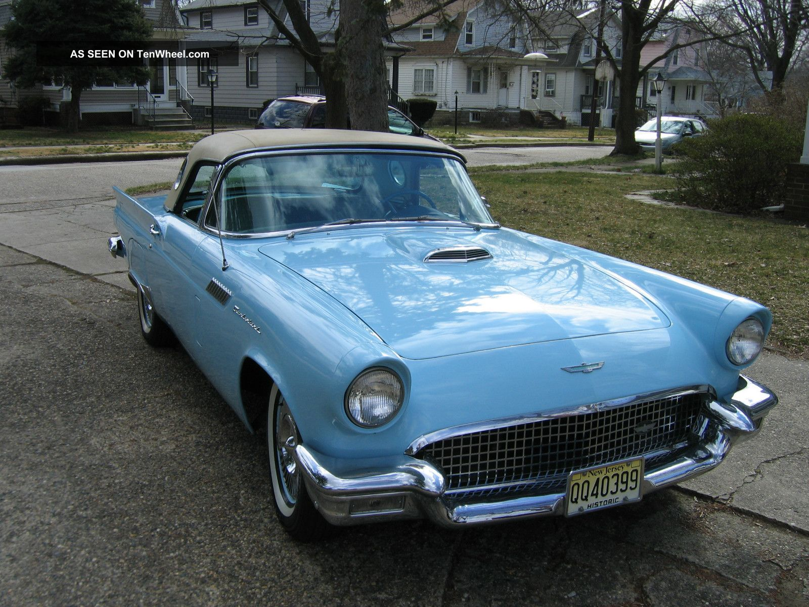 1957 Thunderbird Convertible In Starmist Blue With A / C Thunderbird photo